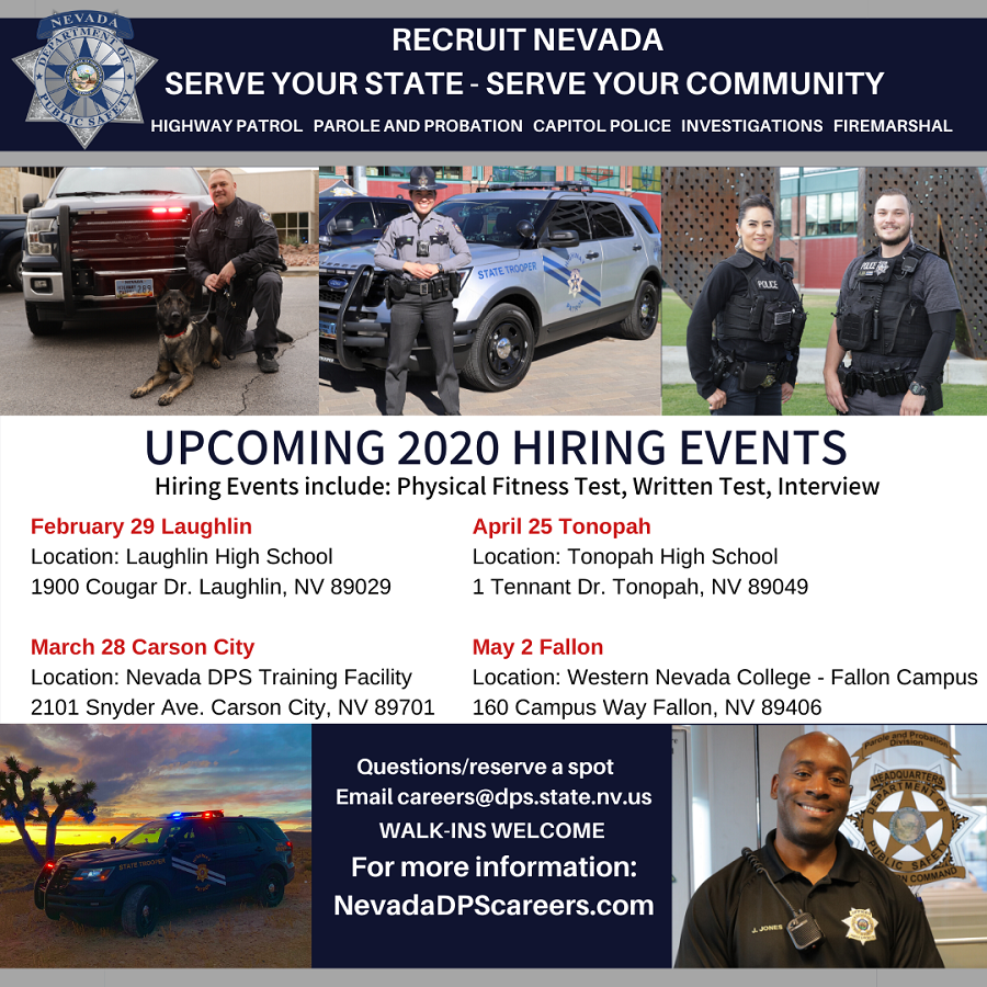 Nevada DPS Recruitment