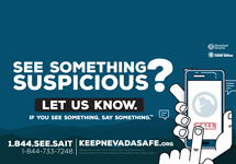 See Something Suspicious? Let Us know